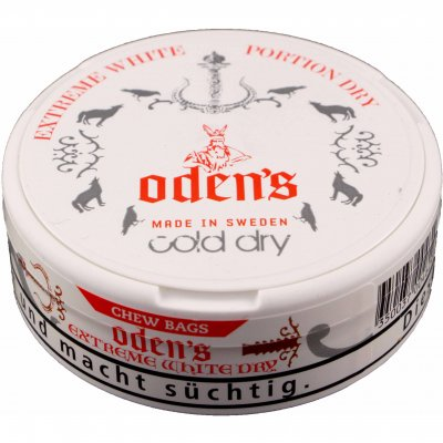 Odens Cold Dry Extreme White Chew Bags