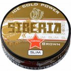 Siberia 80 Brown Slim Ice Cold Power Portion Chewing Bags