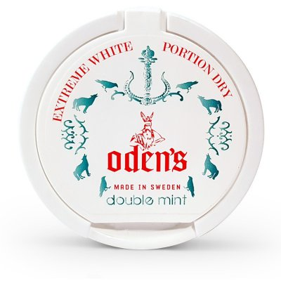 Odens Extreme White Dry Doublemint Chew Bags
