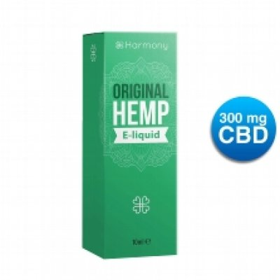 Harmony Original Hemp CBD E-Liquid 300mg/10ml