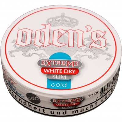 Odens Cold Extreme White Dry Slim Chew Bags