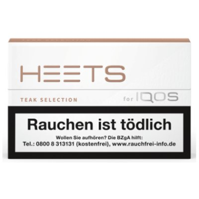 HEETS Teak Selection Tobacco Sticks